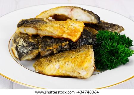 Grilled Fish Studio Photo #434748364