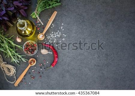 Saraf olive oil pepper garlic spice #435367084