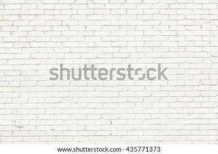 White brick wall for background #435771373