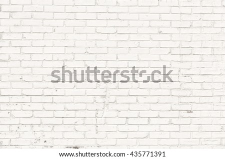White brick wall for background #435771391