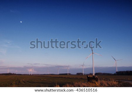 the image of windmill for the day #436510516