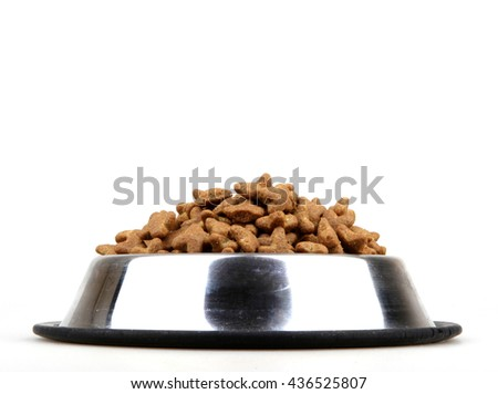 Cats and dogs dry food. #436525807