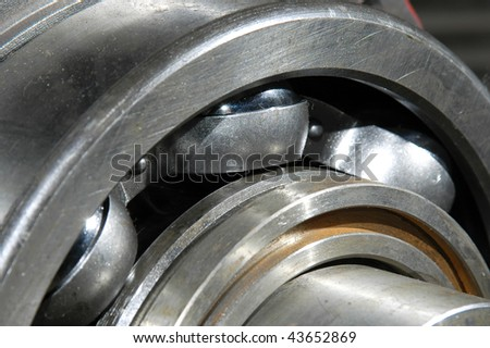 The bearing on the shaft #43652869