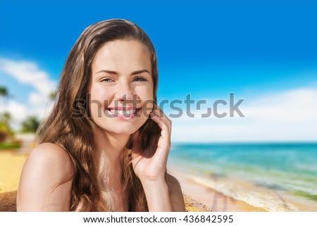 Beach. #436842595