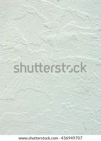 Abstract texture on white wall background. #436949707