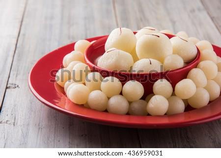 Rassgulla or Rosogolla, famous Bengali sweet #436959031