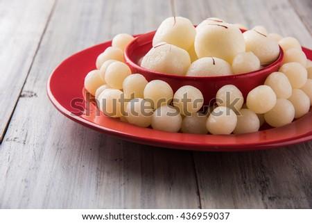Rassgulla or Rosogolla, famous Bengali sweet #436959037