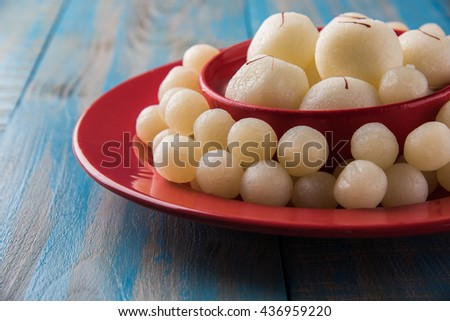 Rassgulla or Rosogolla, famous Bengali sweet #436959220