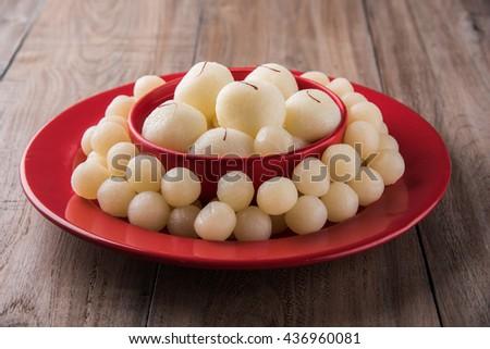 Rassgulla or Rosogolla, famous Bengali sweet #436960081
