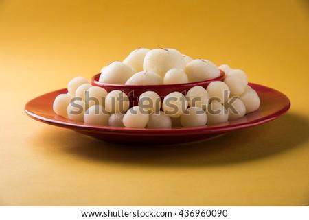 Rassgulla or Rosogolla, famous Bengali sweet #436960090
