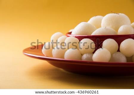 Rassgulla or Rosogolla, famous Bengali sweet #436960261