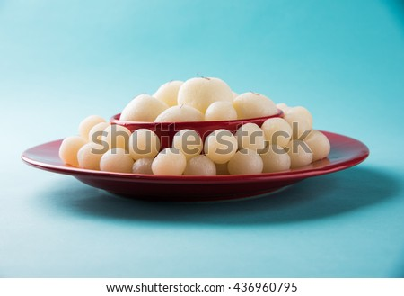 Rassgulla or Rosogolla, famous Bengali sweet #436960795