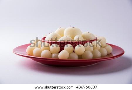 Rassgulla or Rosogolla, famous Bengali sweet #436960807
