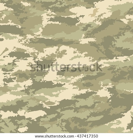 Abstract background print-sand patches. Camouflage pattern Vector illustration texture backdrop.
