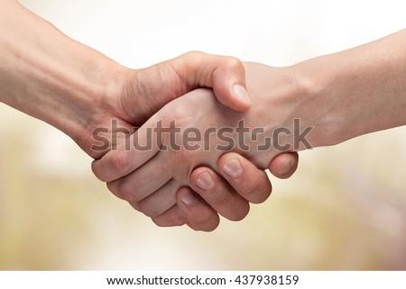 Handshake. #437938159