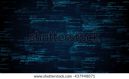 ruby programming code background