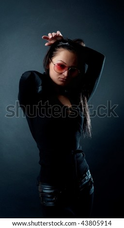 Picture of sexy female wearing sunglasses #43805914