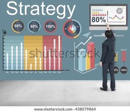 Strategy Target Vision Mission Marketing Concept #438079864