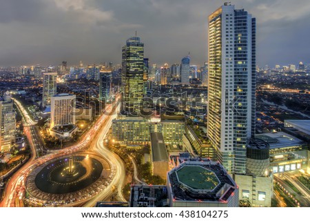 Selamat Datang Monument, also known as the Monumen Bundaran HI, is a monument located in Central Jakarta, Indonesia. Completed in 1962, It is one of the historic landmarks of Jakarta #438104275