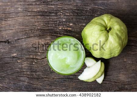 fresh guava juice #438902182