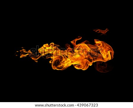 Fire flames Royalty-Free Stock Photo #439067323