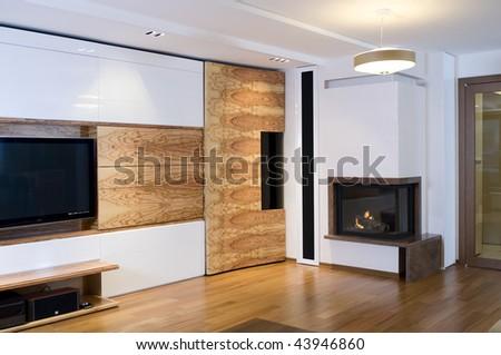 Modern living room interior #43946860