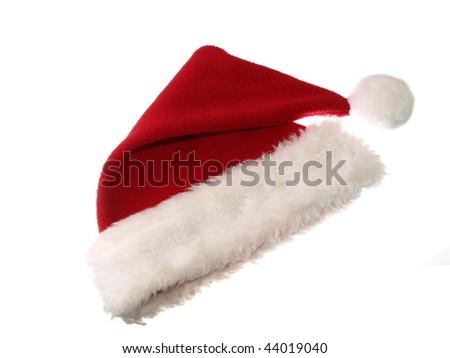 Santa hat isolated on white background #44019040