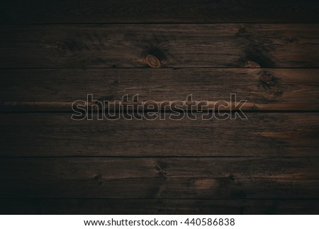 dark wood board use for background Royalty-Free Stock Photo #440586838