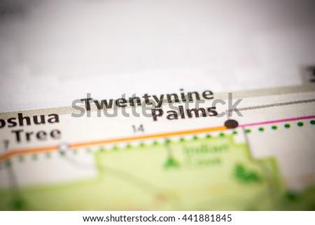 Twentynine Palms. California. USA #441881845