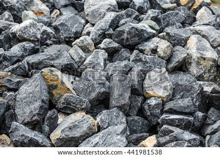 texture of the stone wall #441981538