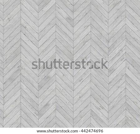 Chevron bleached parquet seamless floor texture