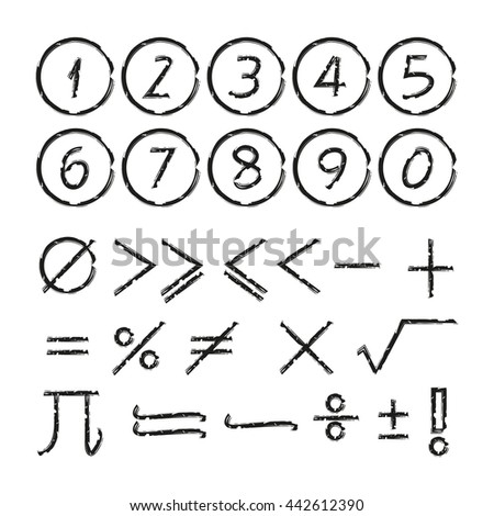 math icons and number #442612390