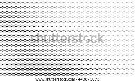 texture dot vector pixel modern halftone background, overlay black pattern on white #443871073