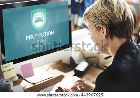 Protection Privacy Policy Private Concept #443967625