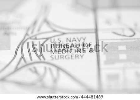 US Navy Bureau of Medicine & Surgery. Washington D.C. USA #444481489