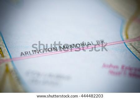 Arlington Memorial Bridge. Washington D.C. USA #444482203