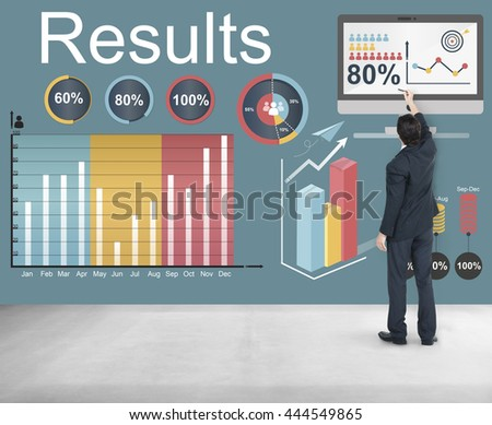 Results Efficiency Progress Growth Concept #444549865