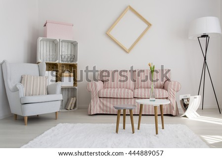 Shot of a cozy modern living room #444889057
