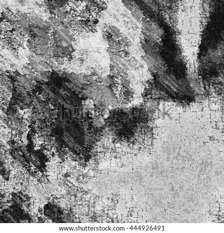 art abstract monochrome chaotic grunge graphic black and white background  #444926491