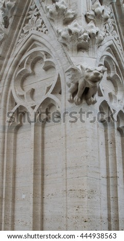 gothic dragon monumental statue  #444938563