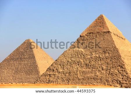 Pyramids of Giza in Egypt #44593375