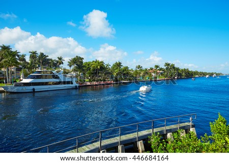 Del Ray Delray beach Gulf Stream in Florida USA #446684164