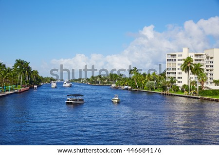 Del Ray Delray beach Gulf Stream in Florida USA #446684176