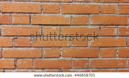 Brick wall paper and background #446858701