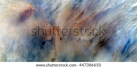 celestial roads,  abstract photography of the deserts of Africa from the air. aerial view of desert landscapes, Genre: Abstract Naturalism, from the abstract to the figurative, contemporary photo art