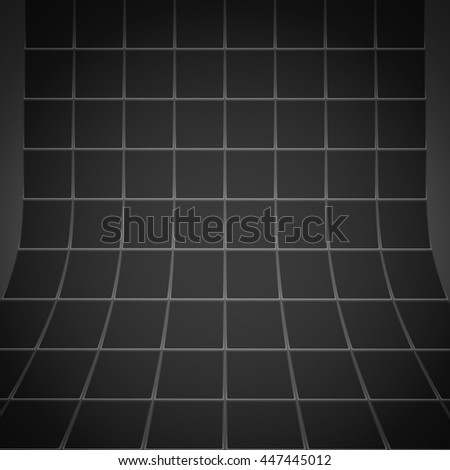 Abstract black squares textured background #447445012