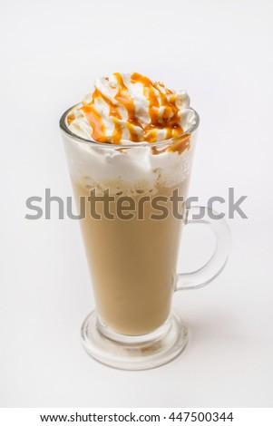 latte macchiato coffee  #447500344