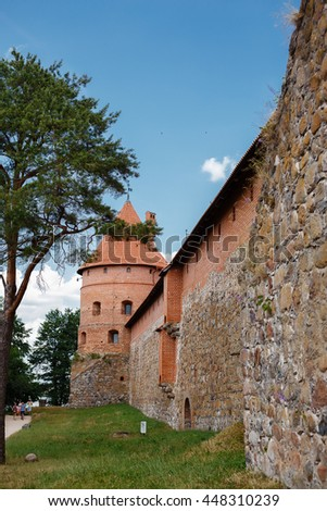 Castle in Trakai, Lithuania. Summer #448310239
