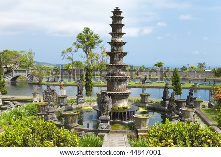 Bali, Indonesia, Imperial swimming baths. #44847001