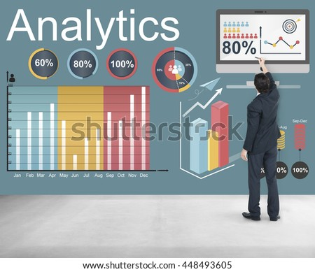 Analytics Data Statistics Analyze Technology Concept #448493605